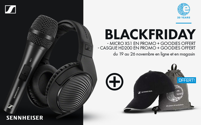 Sennheiser Black Friday // XS1 + HD200 pro