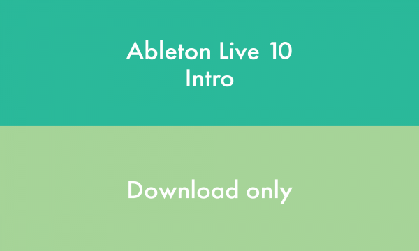 Sequencer sofware Ableton LIVE 10 Intro Version Téléchargement