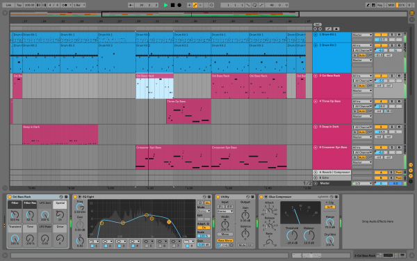 Sequencer sofware Ableton UPG Live 10 Intro vers Standard - Version Téléchargement