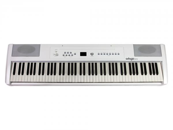 Portable digital piano Adagio SP75WH