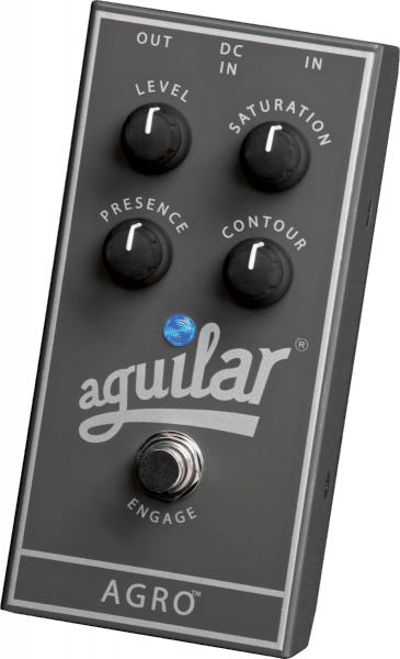 Overdrive, distortion, fuzz effect pedal for bass Aguilar Agro