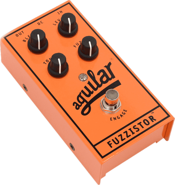 Overdrive, distortion, fuzz effect pedal for bass Aguilar Fuzzistor