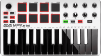 Controller-keyboard Akai MPK Mini2 White