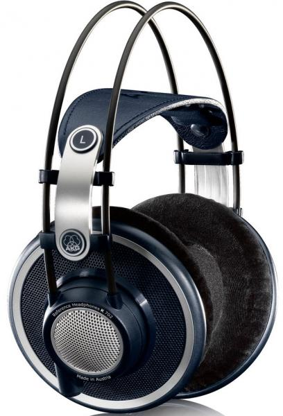 Studio & dj headphones Akg K702 - Black