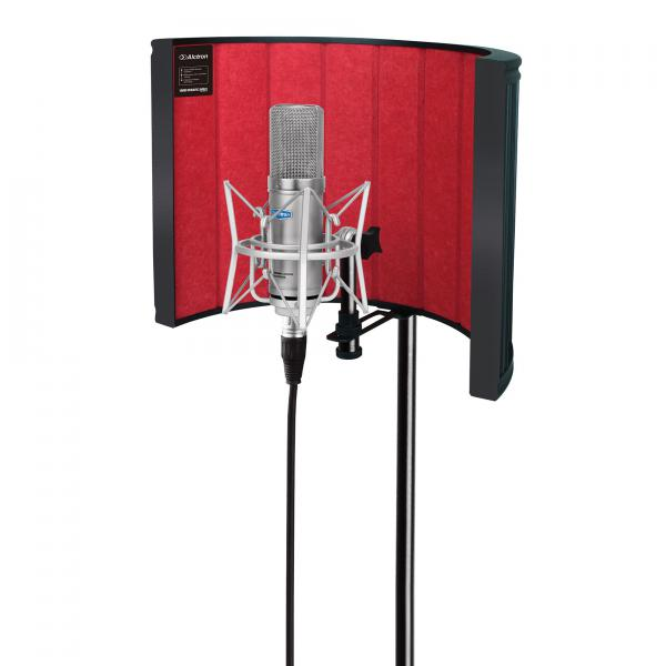 Pop filter & microphone screen Alctron Filtre anti bruit VB860