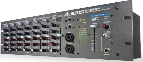 Analog mixing desk Alesis Multimix 10 Wireless