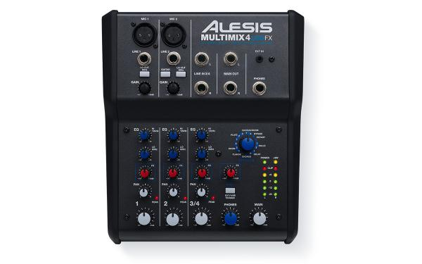 Analog mixing desk Alesis MultiMix 4 USB FX