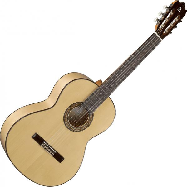 Classical guitar 4/4 size Alhambra 3F Flamencas - Natural