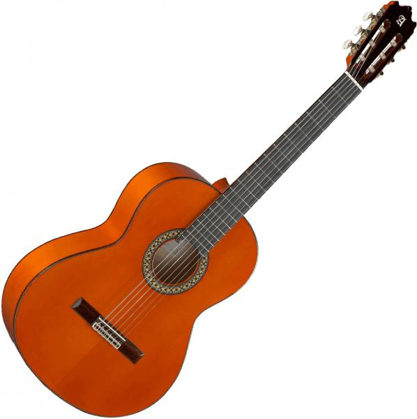 Classical guitar 4/4 size Alhambra 4F Flamencas - Natural
