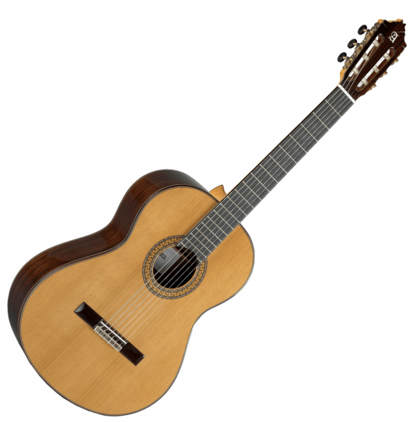 Classical guitar 4/4 size Alhambra 9P +case - Natural
