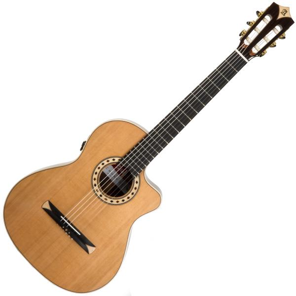 Classical guitar 4/4 size Alhambra Cross-Over CS-3 CW E8 - Natural