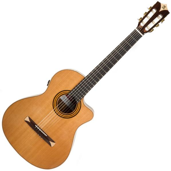 Classical guitar 4/4 size Alhambra Cross-Over CS-1 CW E8 - Natural
