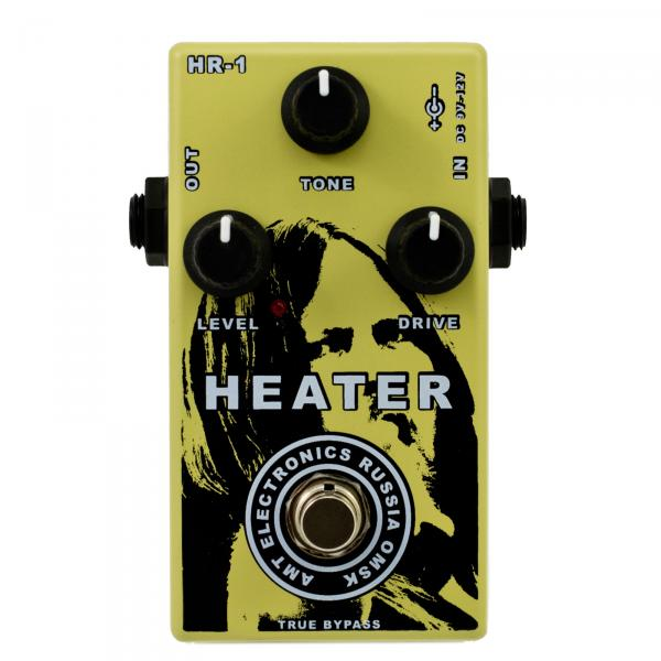 Overdrive, distortion & fuzz effect pedal Amt electronics HR-1 Heater