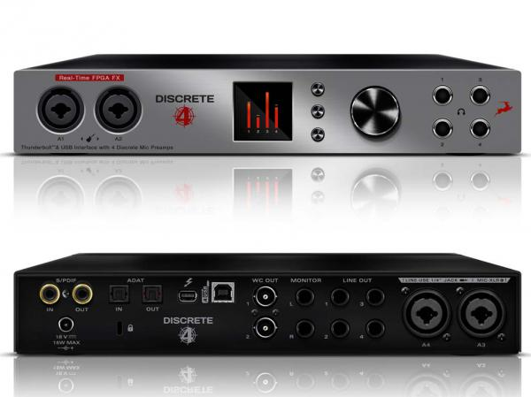 Audio interface Antelope audio Discrete 4 + premium pack offert