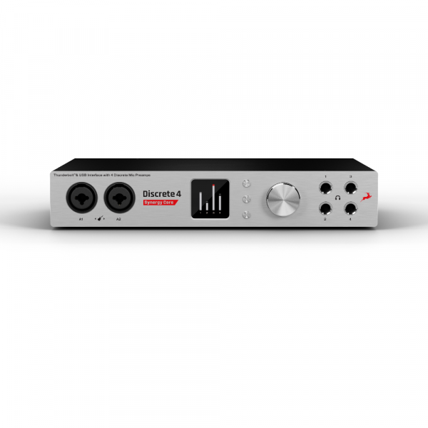 Audio interface Antelope audio Discrete 4 Synergy Core + 2x FREE Mic Verge