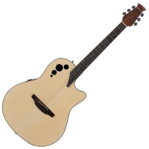 Acoustic guitar & electro Applause AE44II Mid Cutaway - Natural