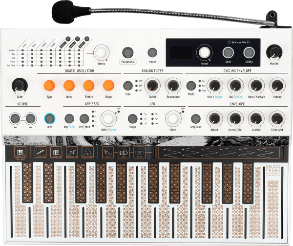 Synthesizer Arturia Microfreak Vocoder Limited Edition