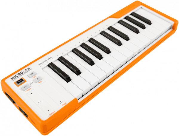Controller-keyboard Arturia Microlab Orange