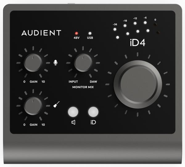 Usb audio interface Audient ID4 MKII