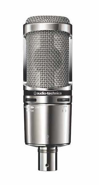Broadcast & interview microphone Audio technica At 2020 USB+V