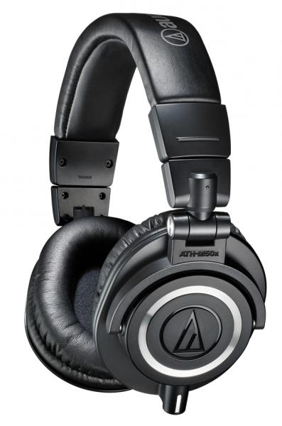 Studio & dj headphones Audio technica ATH-M50X - Black
