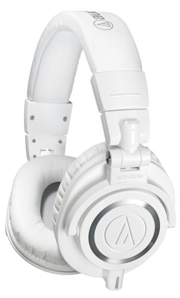 Studio & dj headphones Audio technica ATH-M50XWH - White