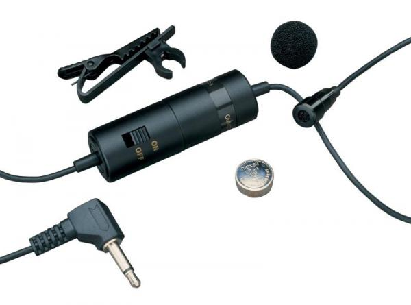 Lavalier microphone Audio technica ATR3350