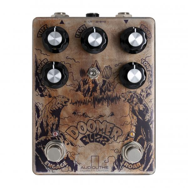 Overdrive, distortion & fuzz effect pedal Audiolithe DOOMER FUZZ