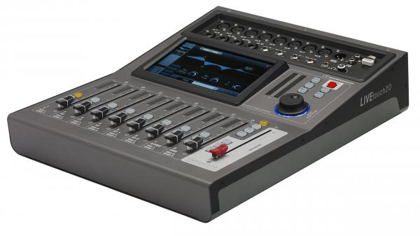 Digital mixing desk Audiophony Live Touch 20
