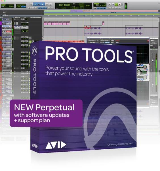 Sequencer sofware Avid PRO TOOLS