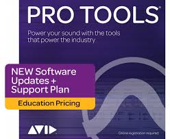 Sequencer sofware Avid PRO TOOLS STUDENT AND TEACHER