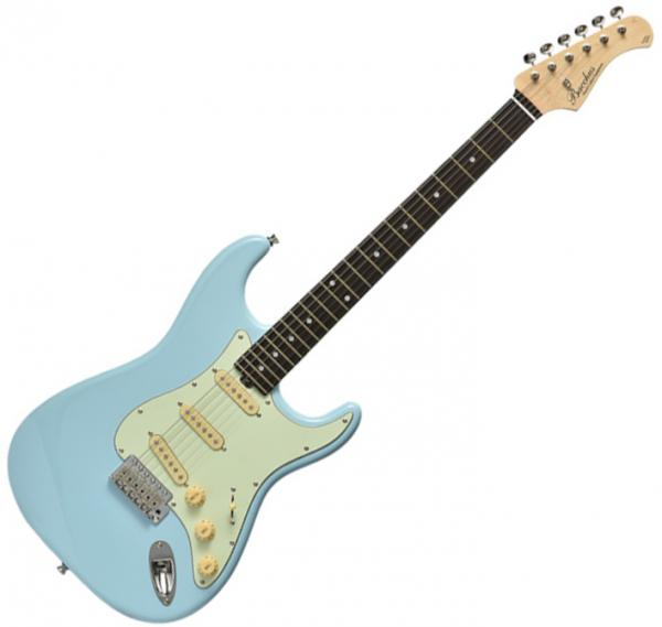 Solid body electric guitar Bacchus Global BST 650B - sonic oil blue
