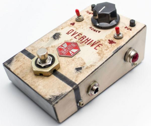 Overdrive, distortion & fuzz effect pedal Beetronics Overhive