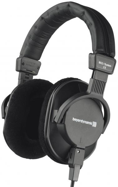 Studio & dj headphones Beyerdynamic DT 250 80ohms - Black