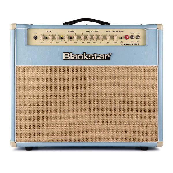 Electric guitar combo amp Blackstar HT CLUB 40 MKII BLACK AND BLUE SERIE LTD
