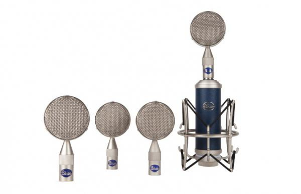 Studio recording and live microphone Blue Bottle Rocket Mic Locker