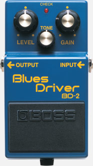 Overdrive, distortion & fuzz effect pedal Boss BD-2 Blues Driver