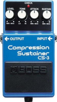 Compressor, sustain & noise gate effect pedal Boss CS-3 Compression Sustainer