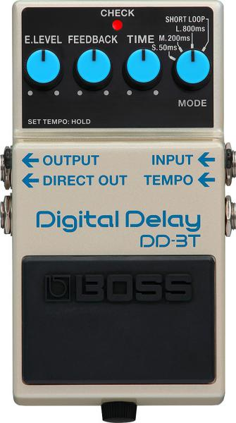 Reverb, delay & echo effect pedal Boss DD-3T Digital Delay