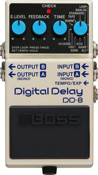 Reverb, delay & echo effect pedal Boss DD-8 Digital Delay