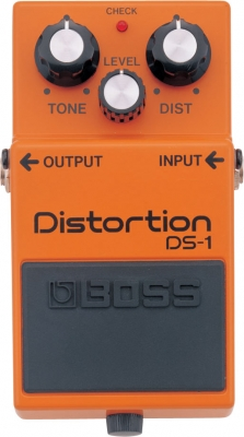 Overdrive, distortion & fuzz effect pedal Boss DS-1 Distortion