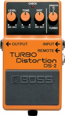 Overdrive, distortion & fuzz effect pedal Boss DS-2 Turbo Distortion