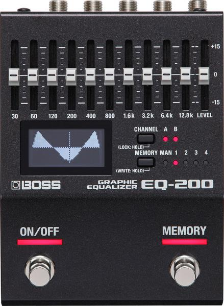 Eq & enhancer effect pedal Boss EQ-200