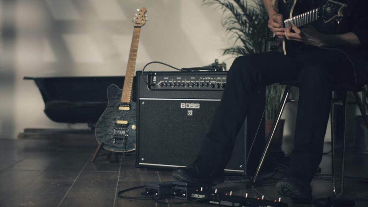 boss katana 50 electric guitar combo amp star 39 s music. Black Bedroom Furniture Sets. Home Design Ideas
