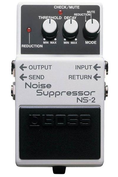 Compressor, sustain & noise gate effect pedal Boss NS-2 Noise Suppressor