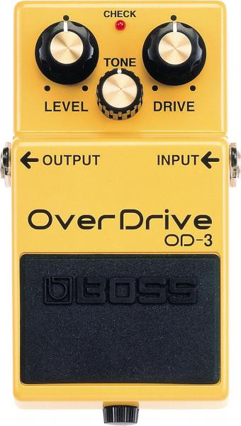Overdrive, distortion & fuzz effect pedal Boss OD-3 Overdrive