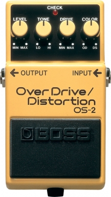 Overdrive, distortion & fuzz effect pedal Boss OS-2 Overdrive Distortion