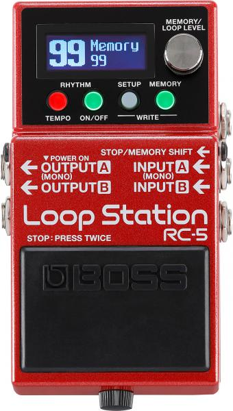 Looper effect pedal Boss RC-5 Loop Station