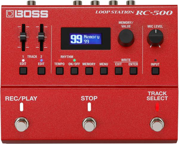 Looper effect pedal Boss RC-500 Loop Station