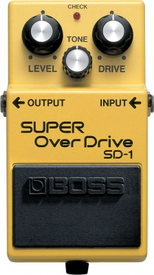 Overdrive, distortion & fuzz effect pedal Boss SD-1 Super OverDrive